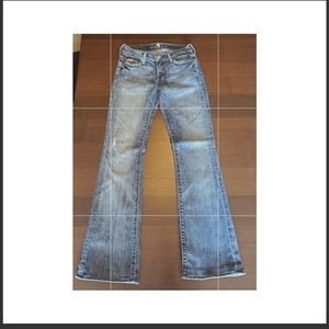 7 for All Mankind jeans. Size 25 boot cut